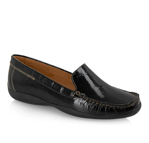 Marcia Womens Leather Slip On Shoes