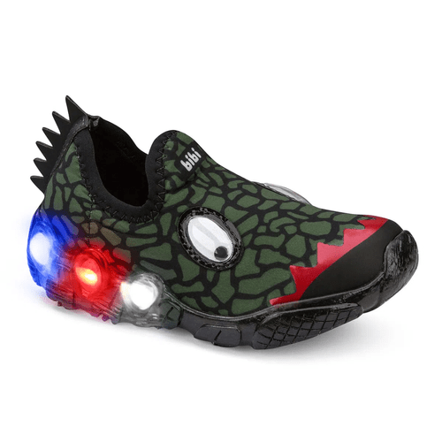 Bibi Space Wave Boys Light Up Trainers