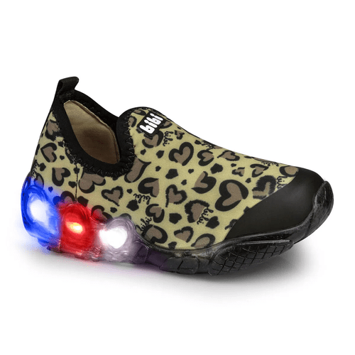 Bibi Space Wave Girls Light Up Trainers