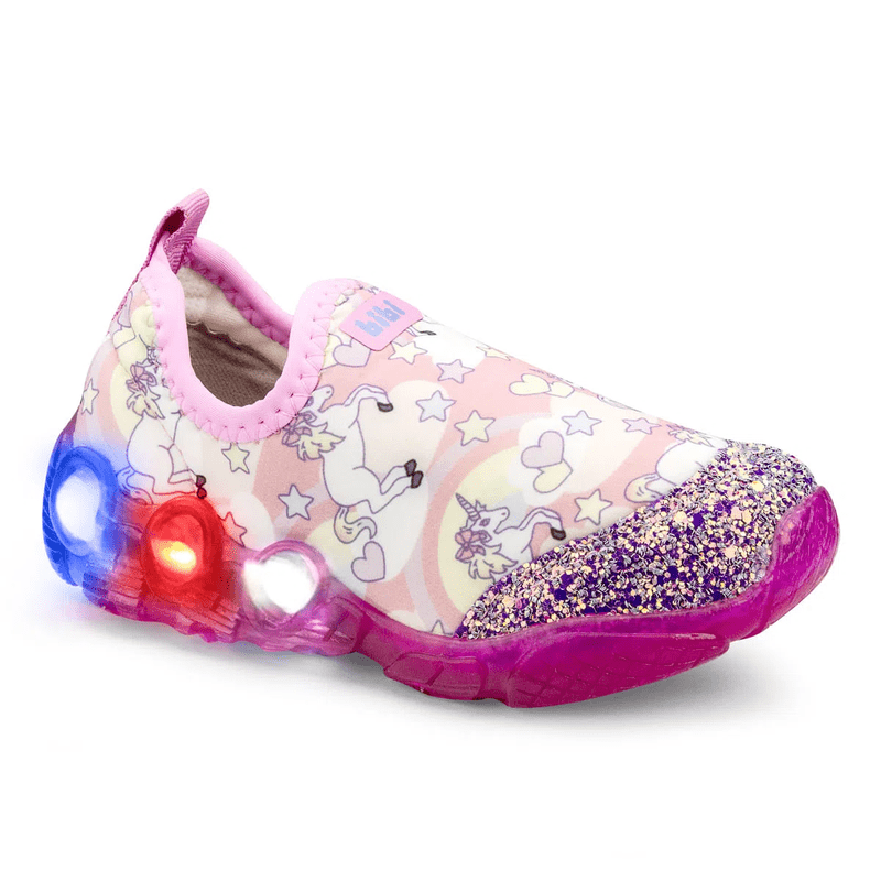 Bibi-Space-Wave-Light-Up-Girls-Light-Pink-Trainers-With-Unicorn-Print-545157_S